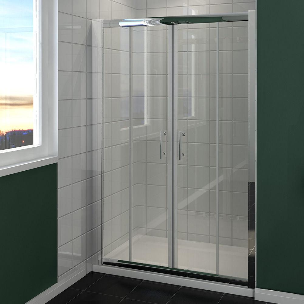 duschkabine duschabtrennung schiebet r duscht r duschwand seitenwand 120 170cm ebay. Black Bedroom Furniture Sets. Home Design Ideas