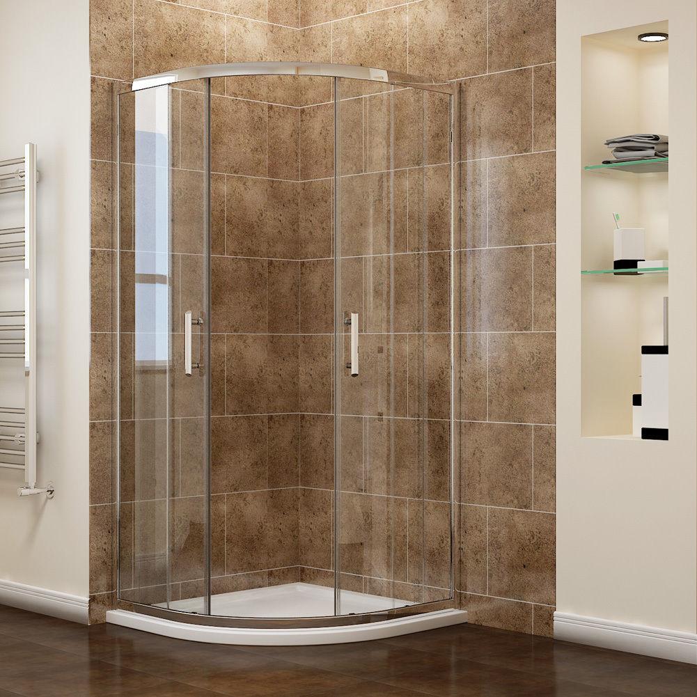 80x80 90x90cm duschkabine viertelkreis runddusch nano. Black Bedroom Furniture Sets. Home Design Ideas