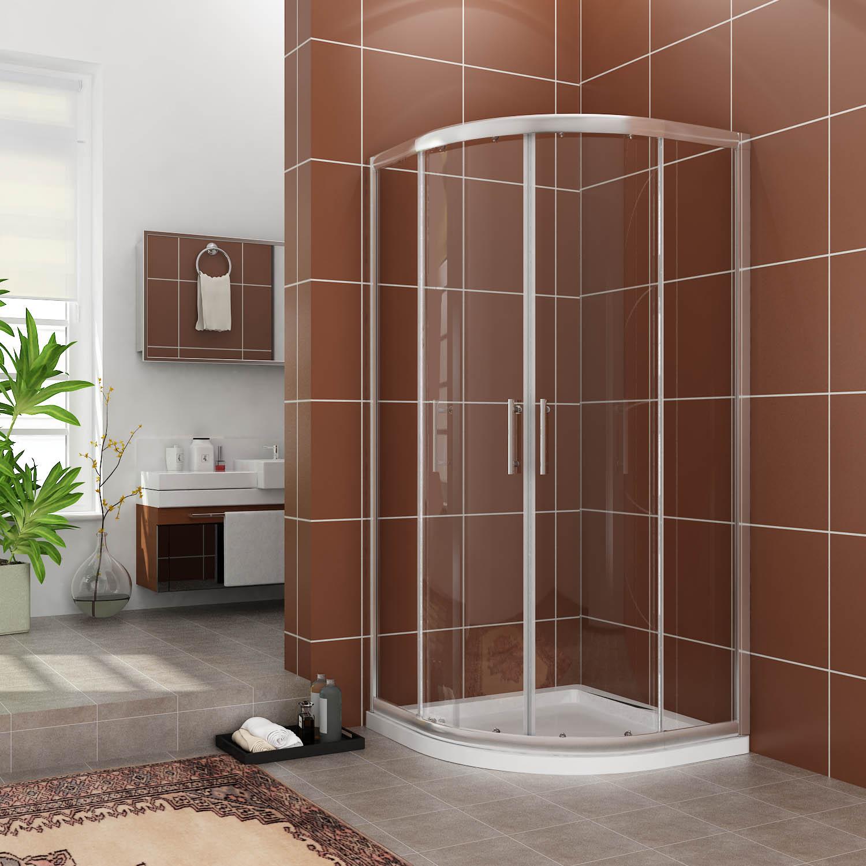 duschkabine 80x80cm viertelkreis duschabtrennung 195cm. Black Bedroom Furniture Sets. Home Design Ideas
