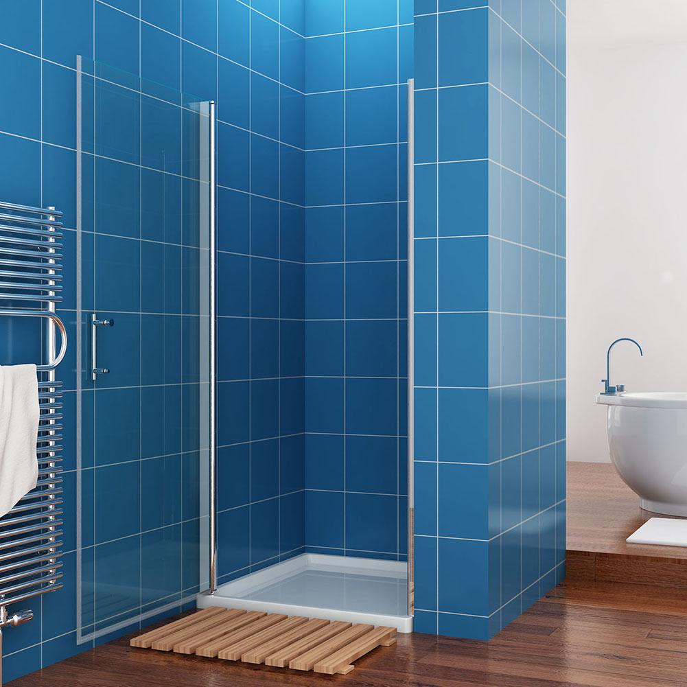 faltt r walk in duschwand schiebet r duschkabine duschabtrennung duscht r esg ebay. Black Bedroom Furniture Sets. Home Design Ideas