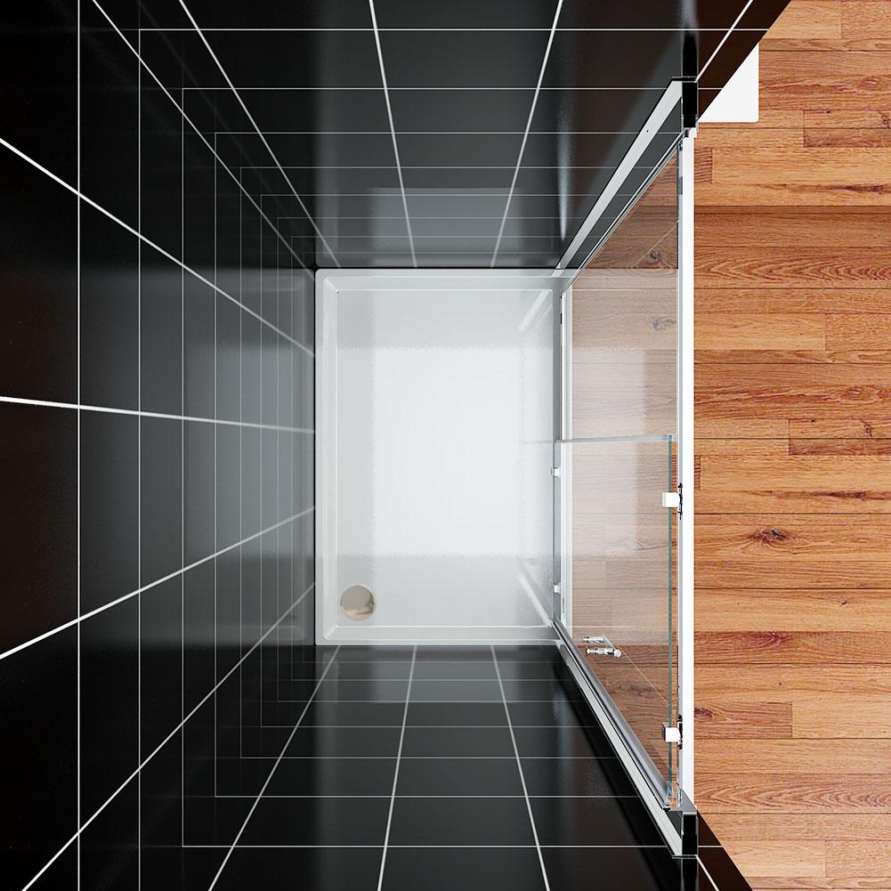 duschkabine walk in duschabtrennung faltt r schiebet r schwingt r duschwand ebay. Black Bedroom Furniture Sets. Home Design Ideas