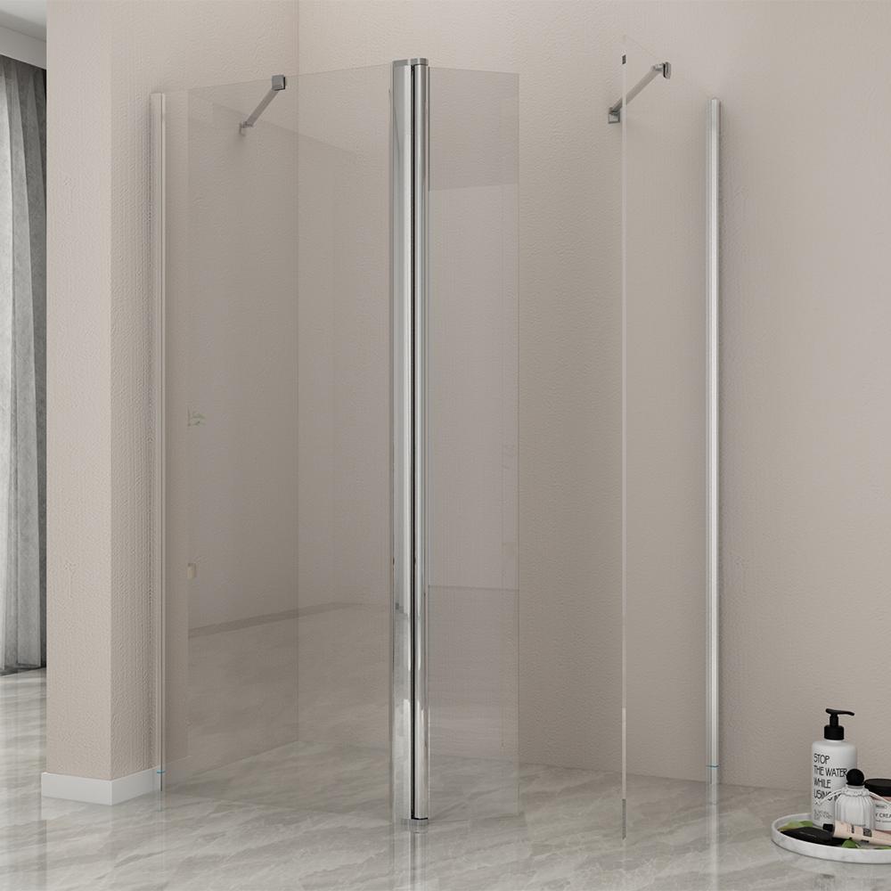70 110 walk in duschkabine 8mm sicherheitsglas nano. Black Bedroom Furniture Sets. Home Design Ideas