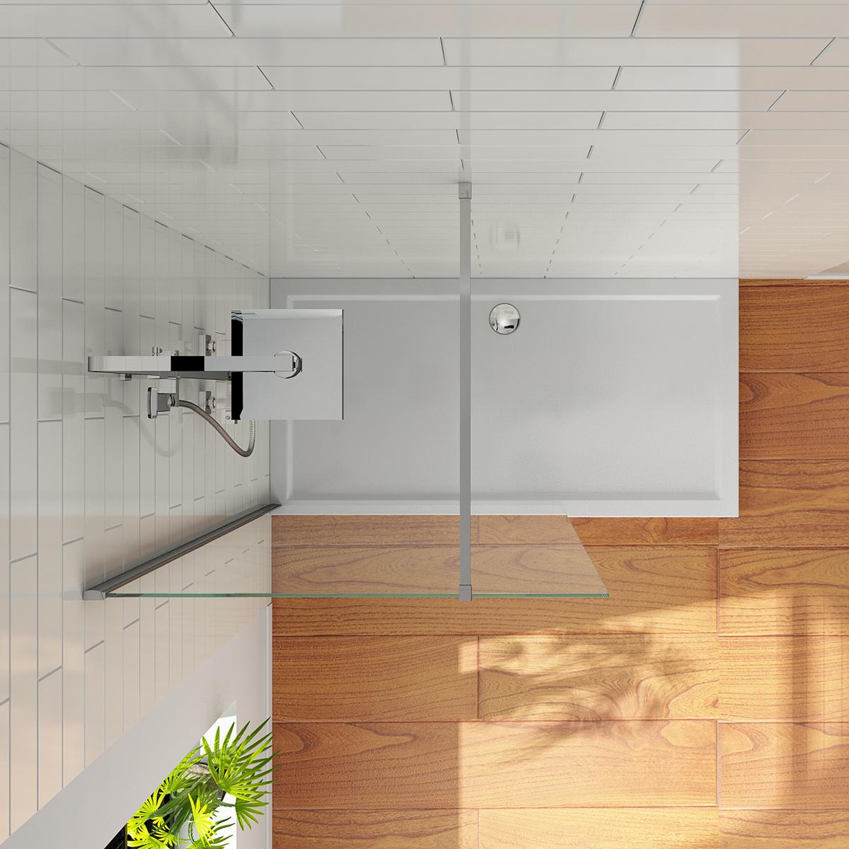 faltt r walk in duschabtrennung duschwand schiebet r duschkabine duscht r ebay. Black Bedroom Furniture Sets. Home Design Ideas