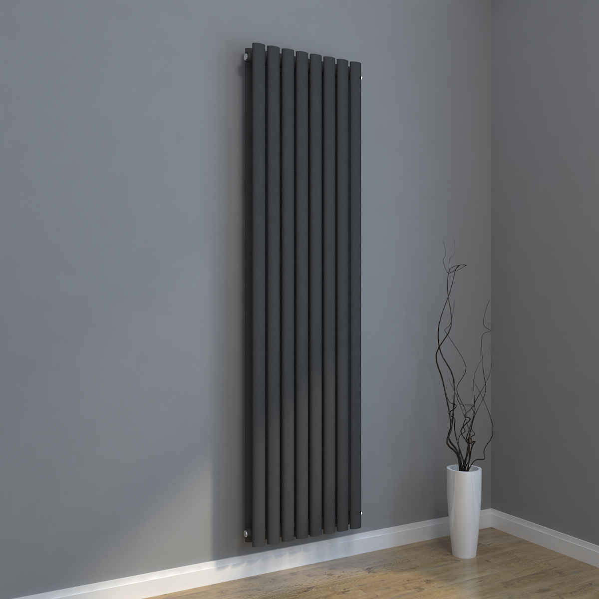 design r hren heizk rper vertikal mittelanschluss. Black Bedroom Furniture Sets. Home Design Ideas