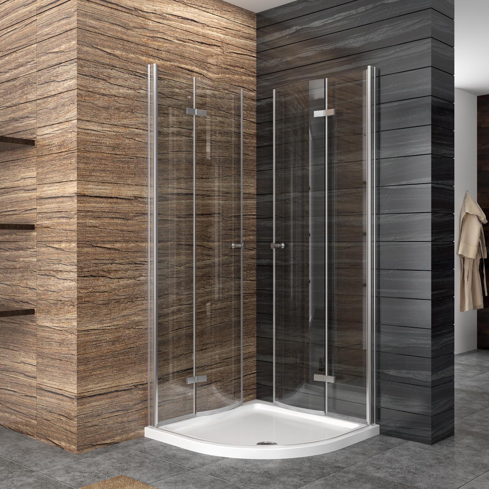 duschkabine runddusche 100x100 duschabtrennung viertelkreis faltt r ebay. Black Bedroom Furniture Sets. Home Design Ideas