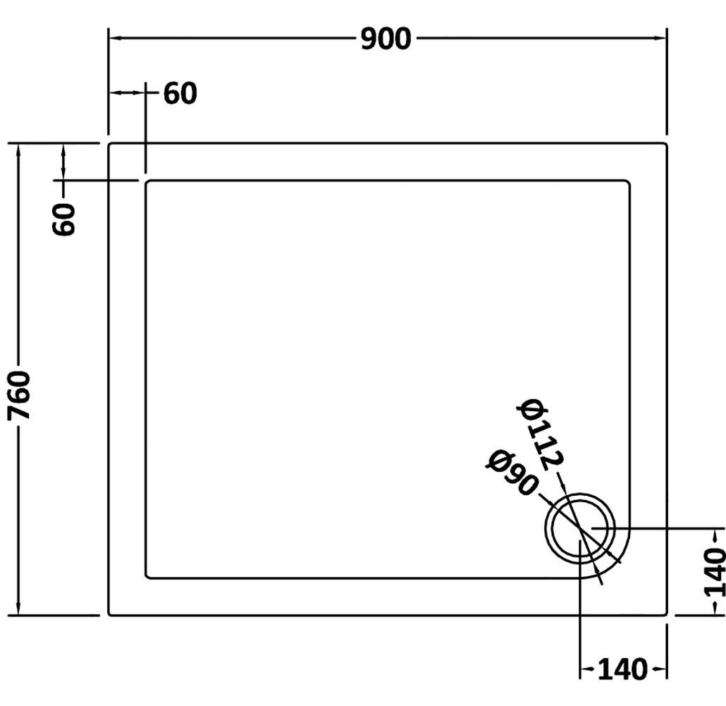 duschkabine 70x90 eckeinstieg glasduschwand schwingt r seitenwand mit duschtasse ebay. Black Bedroom Furniture Sets. Home Design Ideas